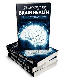 Superior Brain Health MRR Ebook