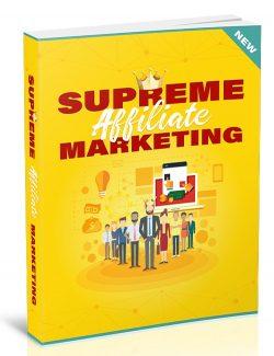 Supreme Affiliate Marketing MRR Ebook