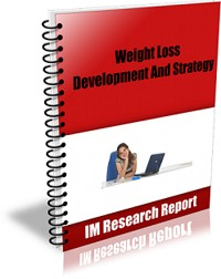 Weight Loss Development And Strategy MRR Ebook