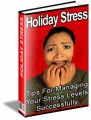 Holiday Stress Plr Ebook
