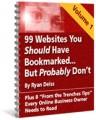 99 Websites You Should Have Bookmarked : Volume 1 ...