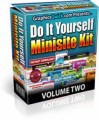 Do It Yourself Minisite Kit VOLUME 2 Personal Use Template