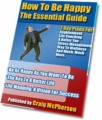 How To Be Happy Resale Rights Ebook