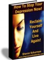 How To Stop Your Depression Now PLR Ebook
