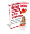 Online Dating Bliss In Five Simple Steps PLR Ebook