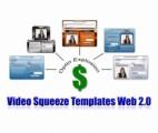 Video Squeeze Templates Web 20 PLR Template