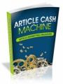 Article Cash Machine Plr Ebook