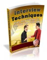Interview Techniques Mrr Ebook