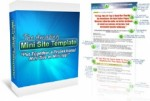 The Amazing Minisite Template Personal Use Template
