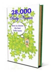 28000 Baby Names Mrr Ebook