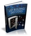 List Building Decoded MRR Ebook With Audio & Video