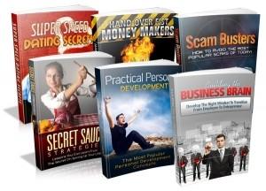 6 Pack Of PLR EBooks Plr Ebook