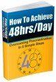 How To Achieve 48HrsDay MRR Ebook