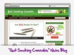 Quit Cannabis Blog Personal Use Template With Video