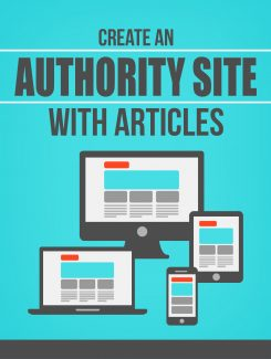 Create An Authority Site With Articles MRR Ebook