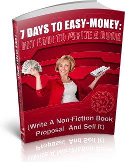 Get Paid To Write A Book PLR Ebook