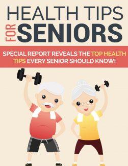 Health Tips For Seniors PLR Ebook
