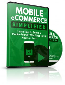 Mobile Ecommerce Simplified PLR Video