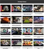 Paintball Instant Mobile Video Site MRR Software