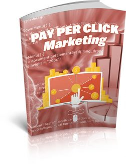 Pay Per Click Marketing MRR Ebook