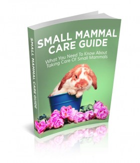 Small Mammal Care Guide Give Away Rights Ebook