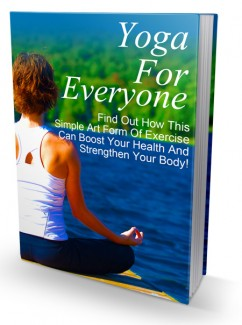 Yoga For Everyone MRR Ebook