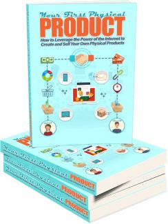 Your First Physical Product MRR Ebook