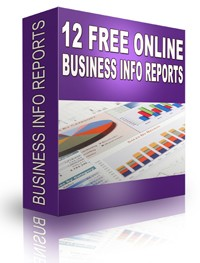 12 Free Online Business Info Reports PLR Ebook