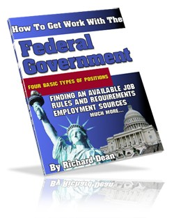 Get Work With The Federal Governement MRR Ebook