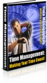 Time Management-Making Your Time Count Plr Ebook