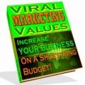 Viral Marketing Values Plr Ebook