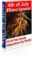4Th Of July Recipes MRR Ebook