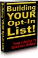Building Your Opt In List Mrr Ebook