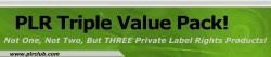 Plr Triple Value Pack PLR Ebook