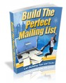 Building The Perfect Mailing List Mrr Ebook