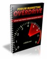 Forum Marketing Overdrive Personal Use Ebook