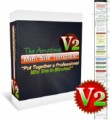 The Amazing Mini Site Template V2 Personal Use Graphic