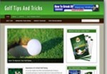 Golf Niche Blog Personal Use Template With Video