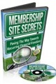 Membership Site Secrets MRR Video