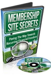 Membership Site Secrets MRR Video
