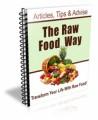 The Raw Food Way Newsletter Plr Autoresponder Messages