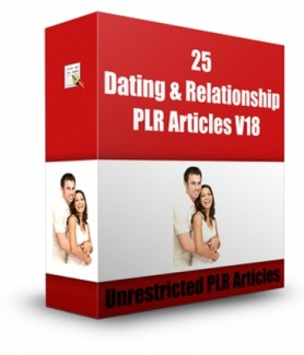 25 Dating  Relationship V18 PLR Article