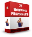 25 Weight Loss Plr Articles V16 PLR Article