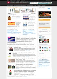 Acne Treatment Niche Blog Personal Use Template