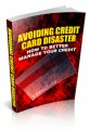 Avoiding Credit Card Disaster MRR Ebook