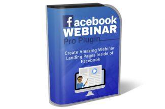 Facebook Webinar Pro Plugin Resale Rights Software