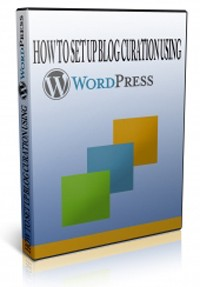 How To Set Up A Curation Blog Using WordPress PLR Video