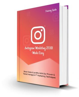 Instagram Marketing 2018 Made Easy Personal Use Ebook