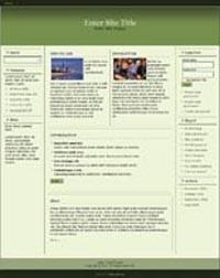 Responsive Magazine Style Template 3 PLR Template