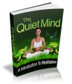 The Quiet Mind Give Away Rights Ebook